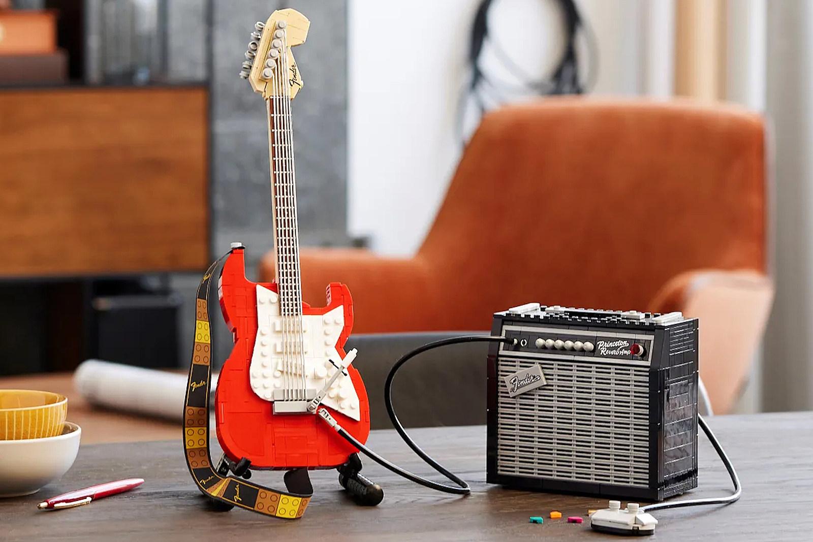 Lego Unveils Fender Stratocaster Set