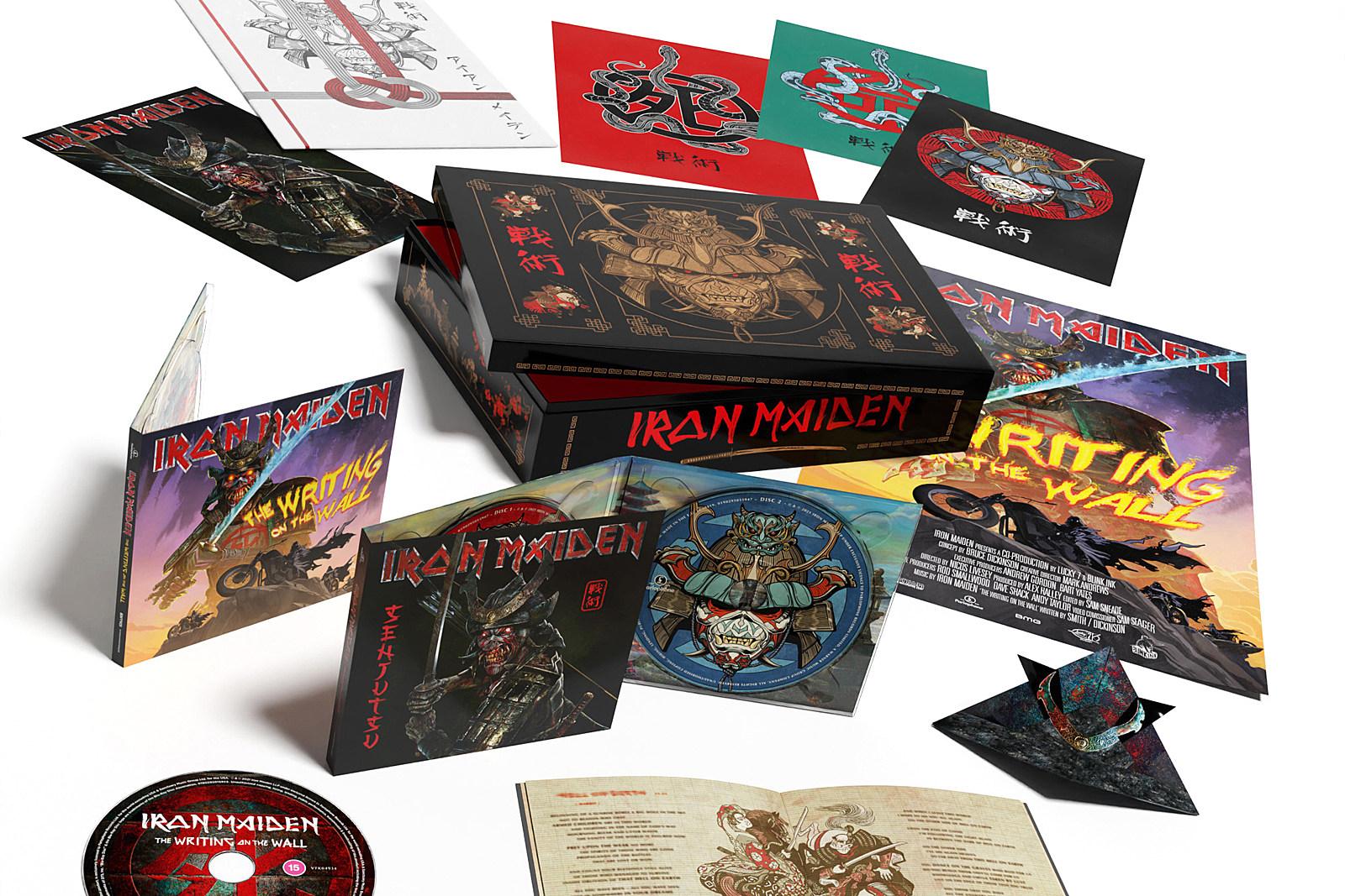 Win Iron Maiden's 'Senjutsu' Super Deluxe Box Set
