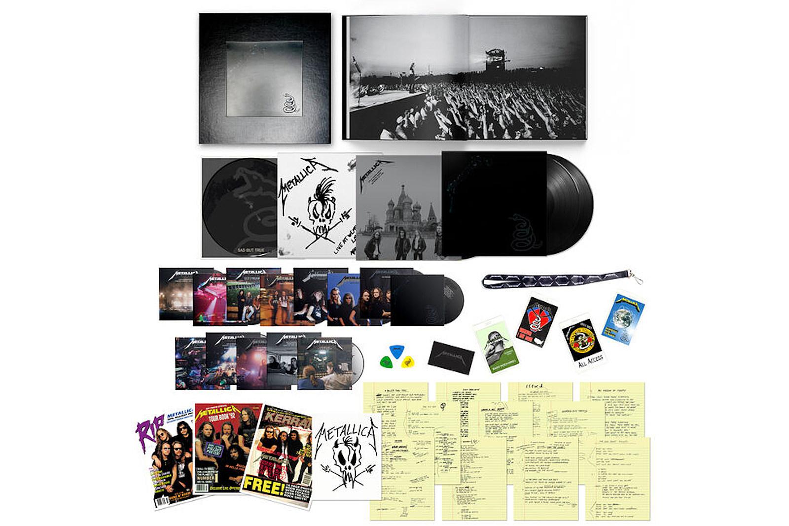 Win Metallica's Black Album Deluxe Box Set