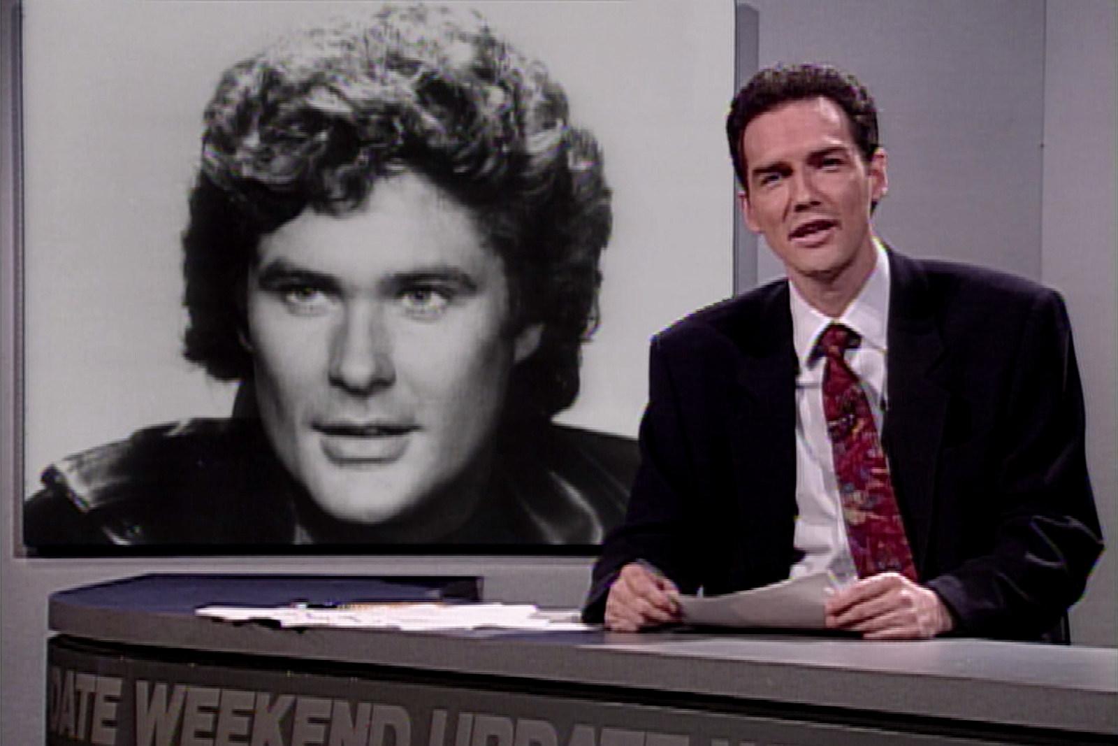 When Norm Macdonald Made His 'SNL' Weekend Update Debut