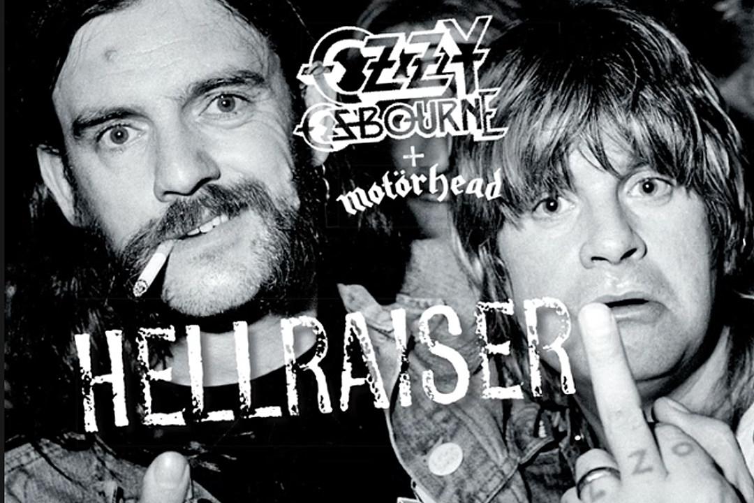 Hear New Version of Ozzy Osbourne's 'Hellraiser' Featuring Lemmy