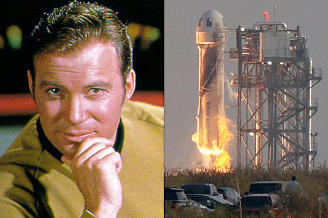 Captain Kirk's Going to Space: Shatner Set for Blue Origin Flight
