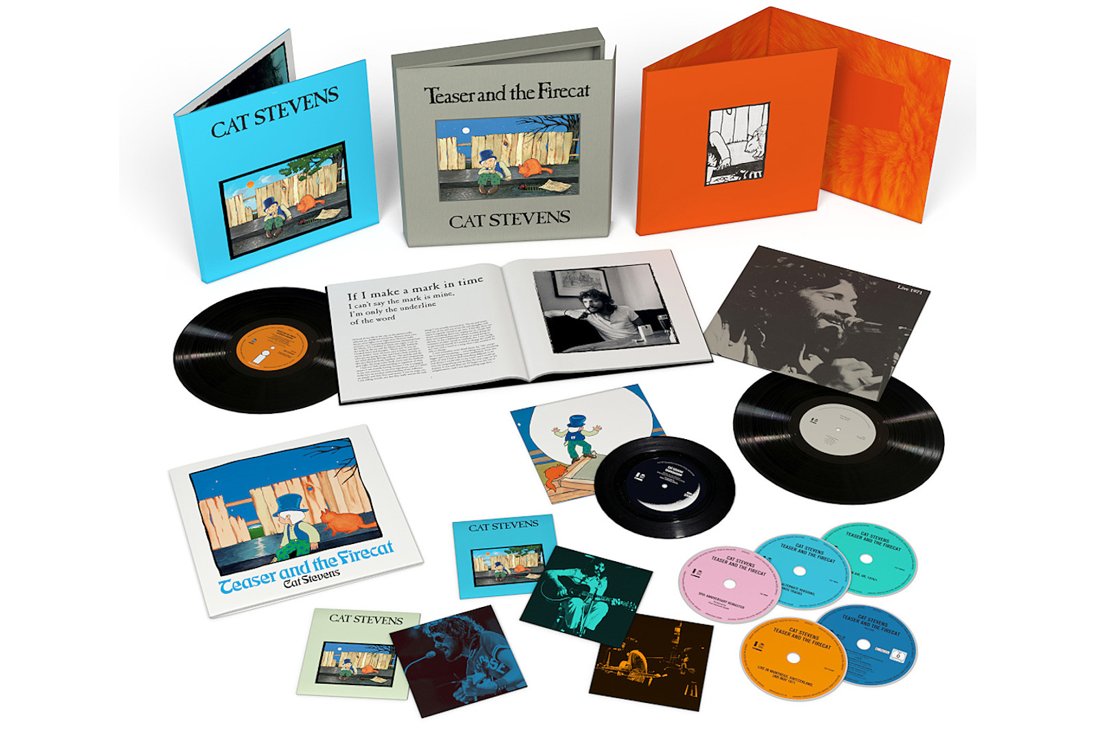 Cat Stevens Unveils 'Teaser and the Firecat' 50th Anniversary Set