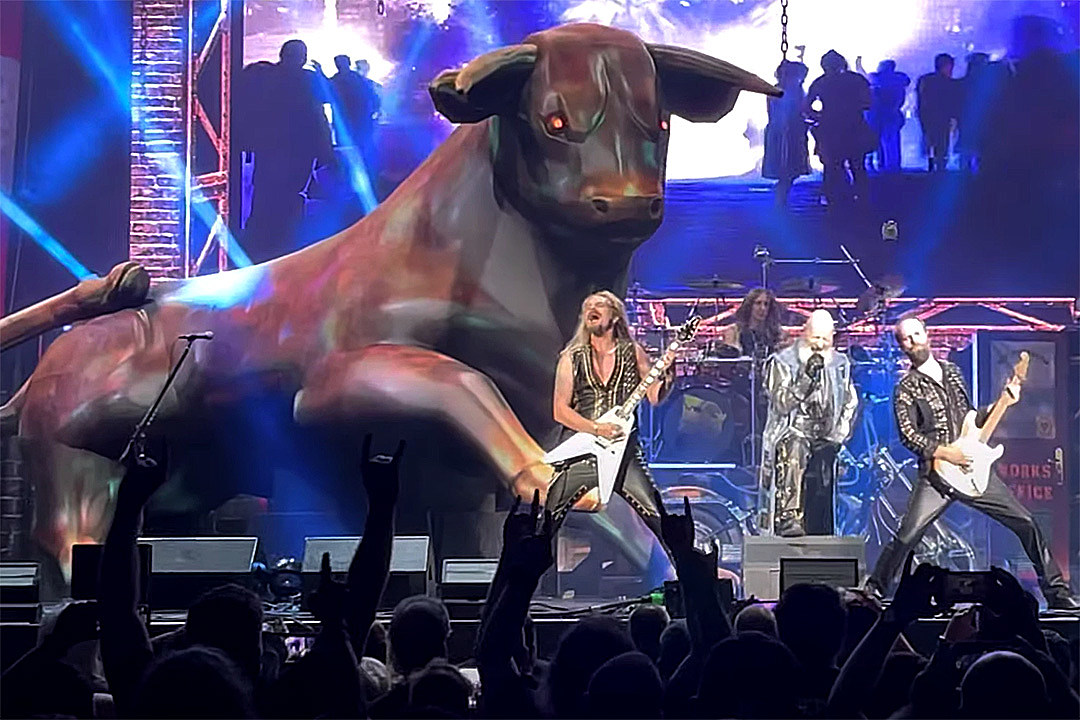 Why You'll See a 'Gigantic, Huge' Bull at Judas Priest Shows