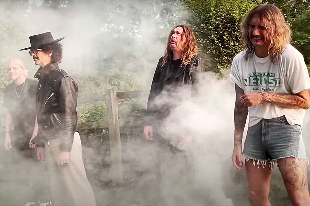 Watch the Darkness Weep Through 'Nobody Can See Me Cry' Video