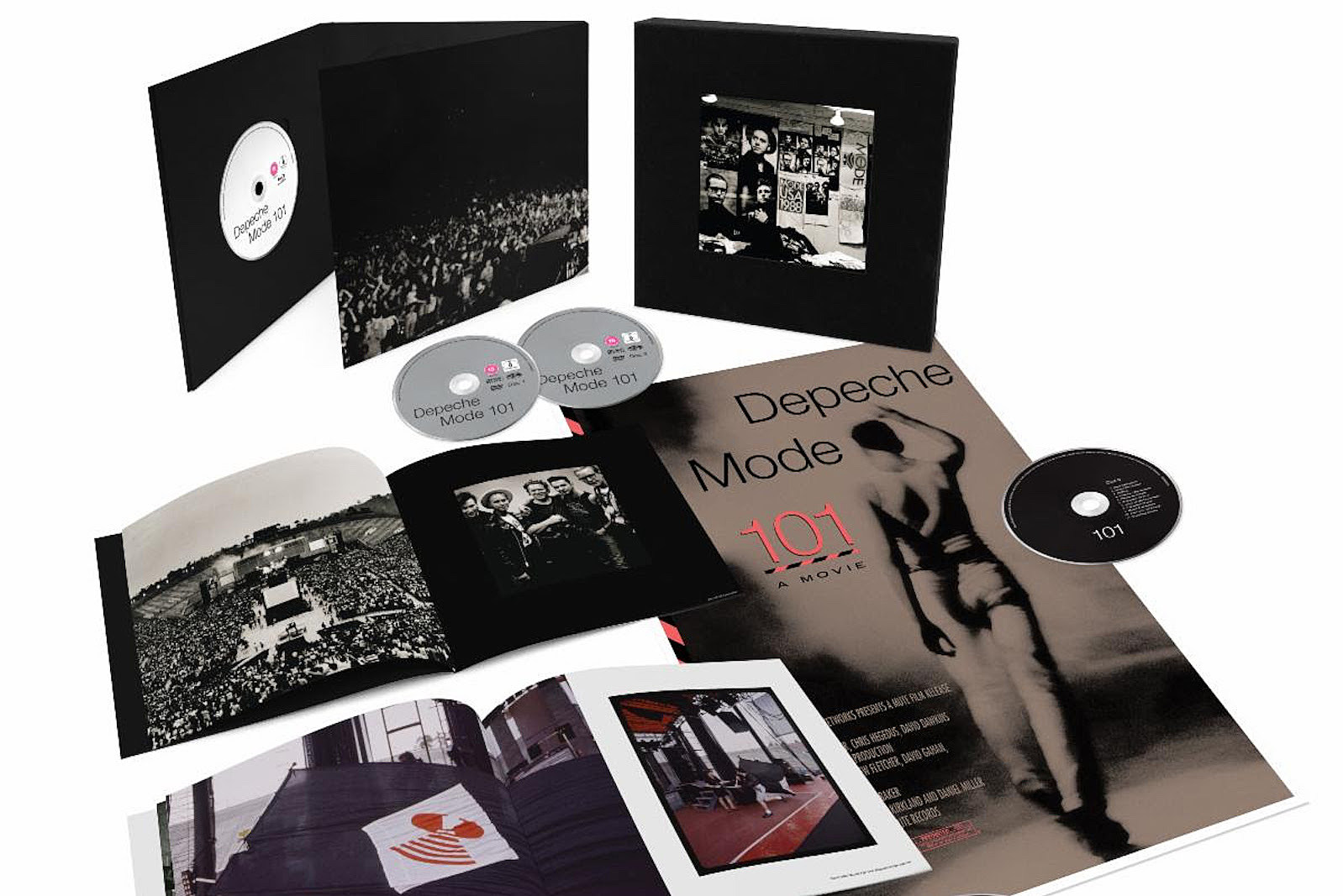 Depeche Mode Announce Reissue of '101' Documentary Concert Film