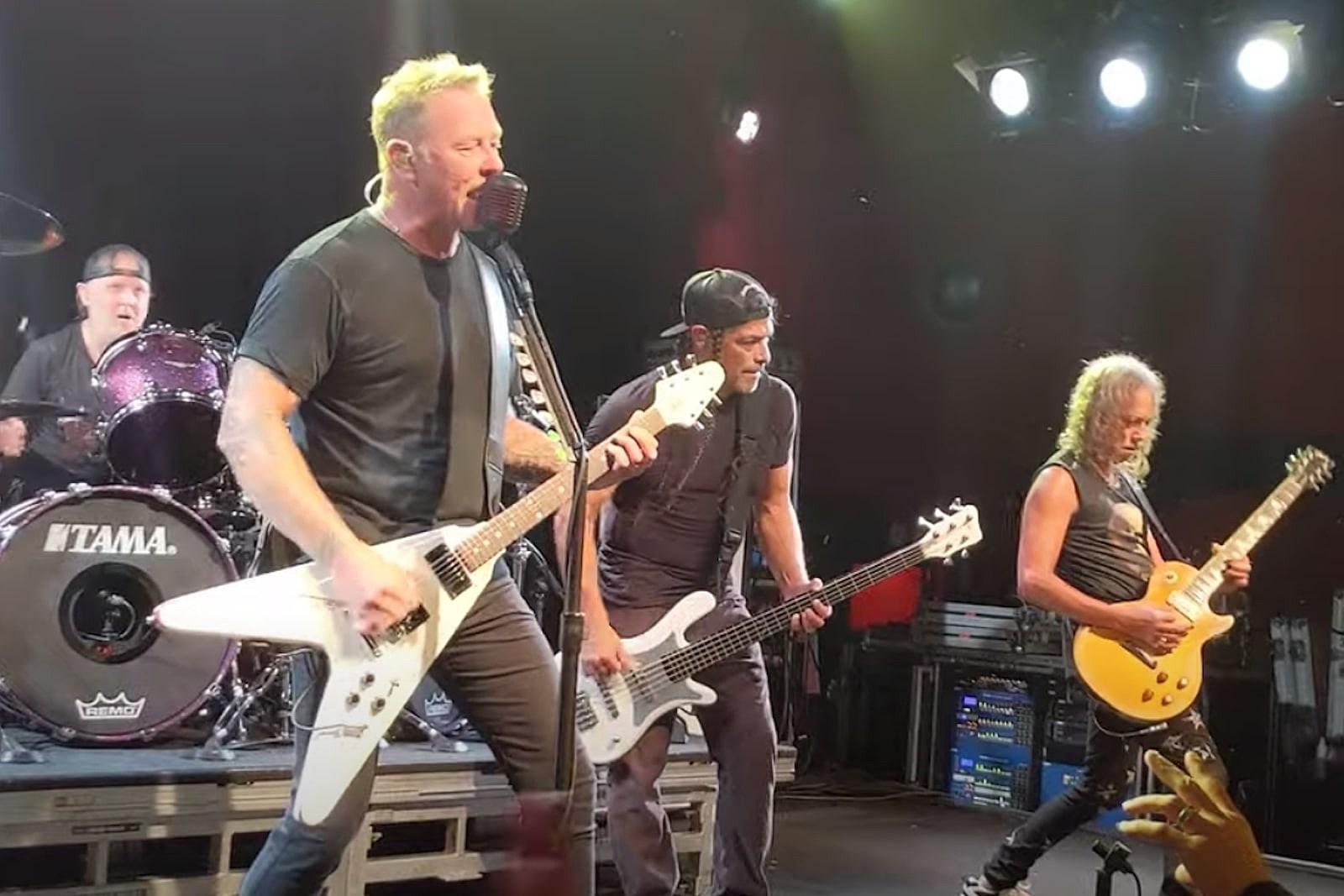 Metallica Return With Surprise Club Show: Video, Set List