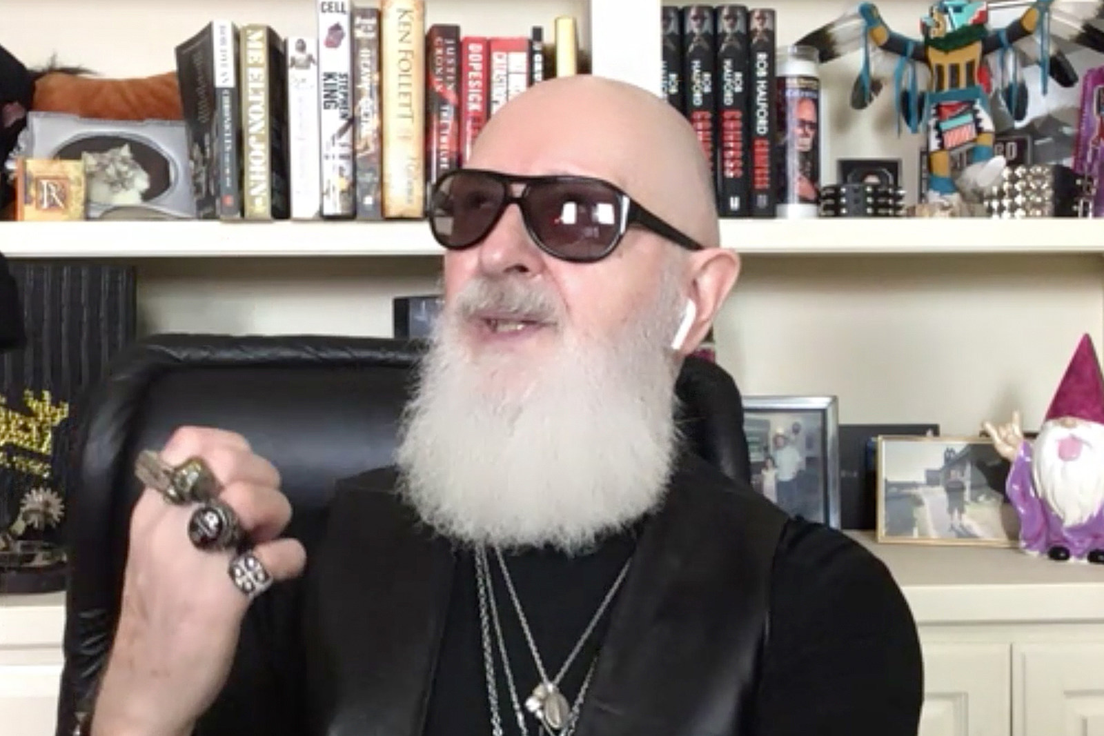 Rob Halford Is Ready for COVID Touring: 'We Have to Battle On'
