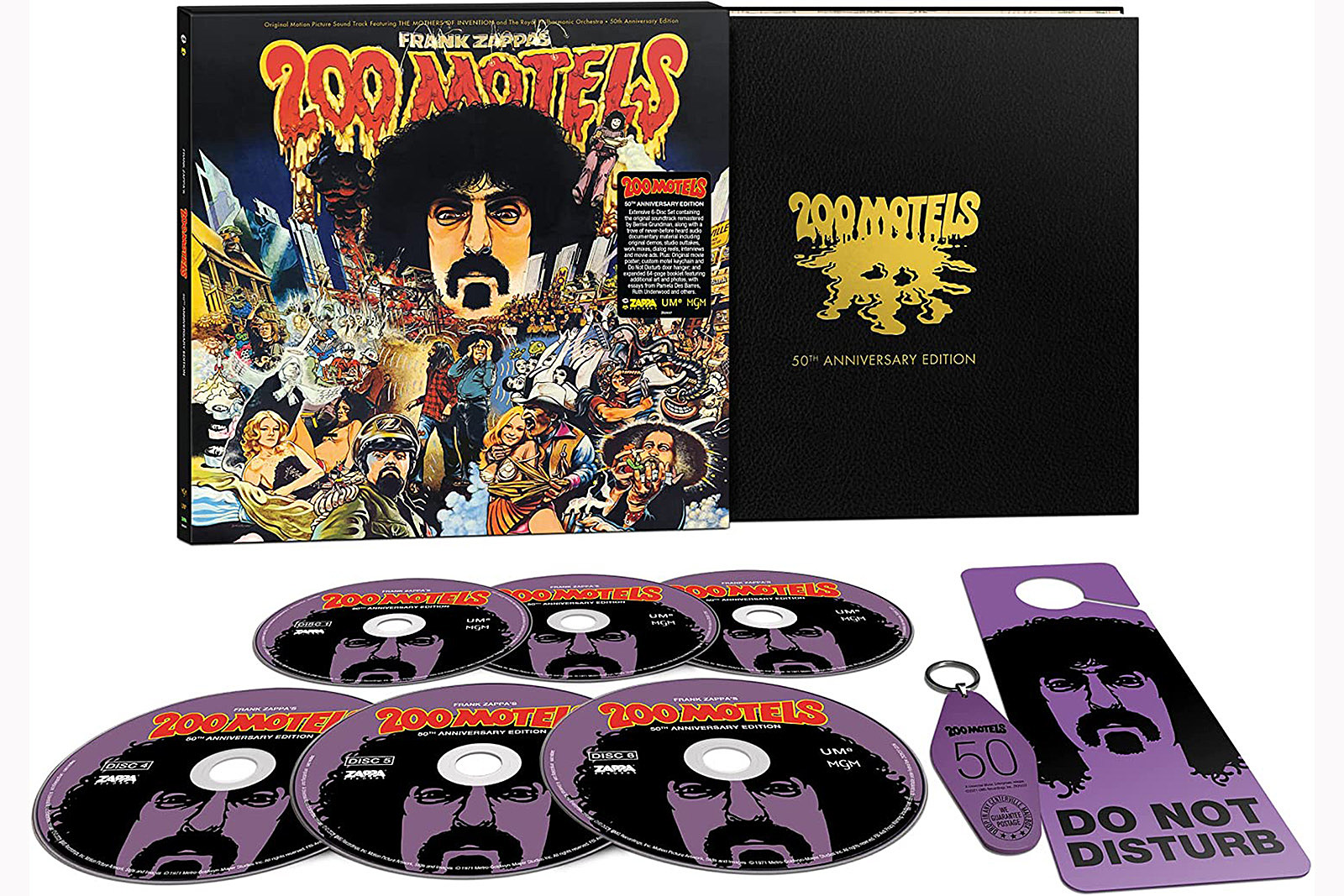 Frank Zappa's '200 Motels' Extended for 50th Anniversary