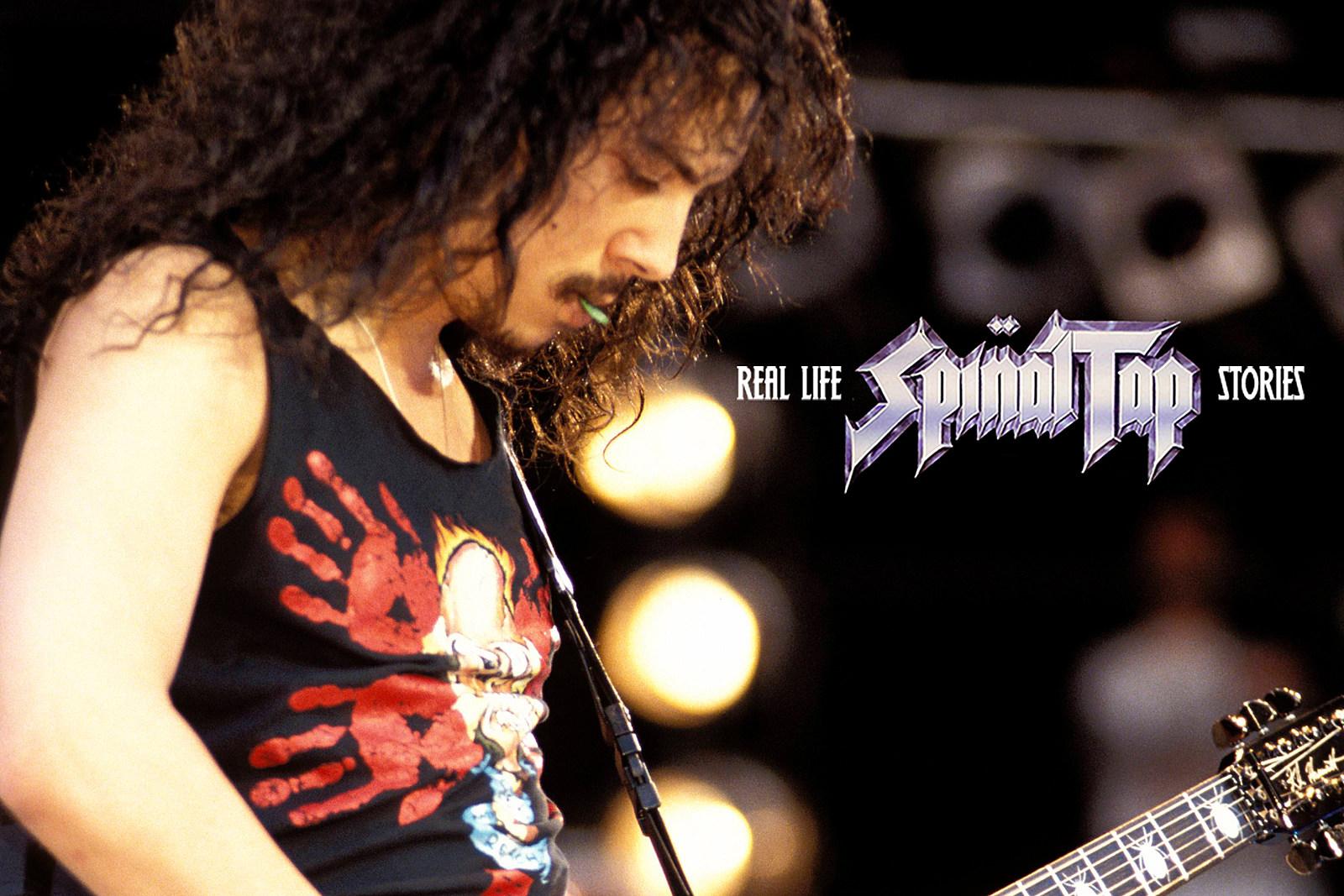 Metallica's Real-Life 'Spinal Tap' Moment at Wembley Stadium