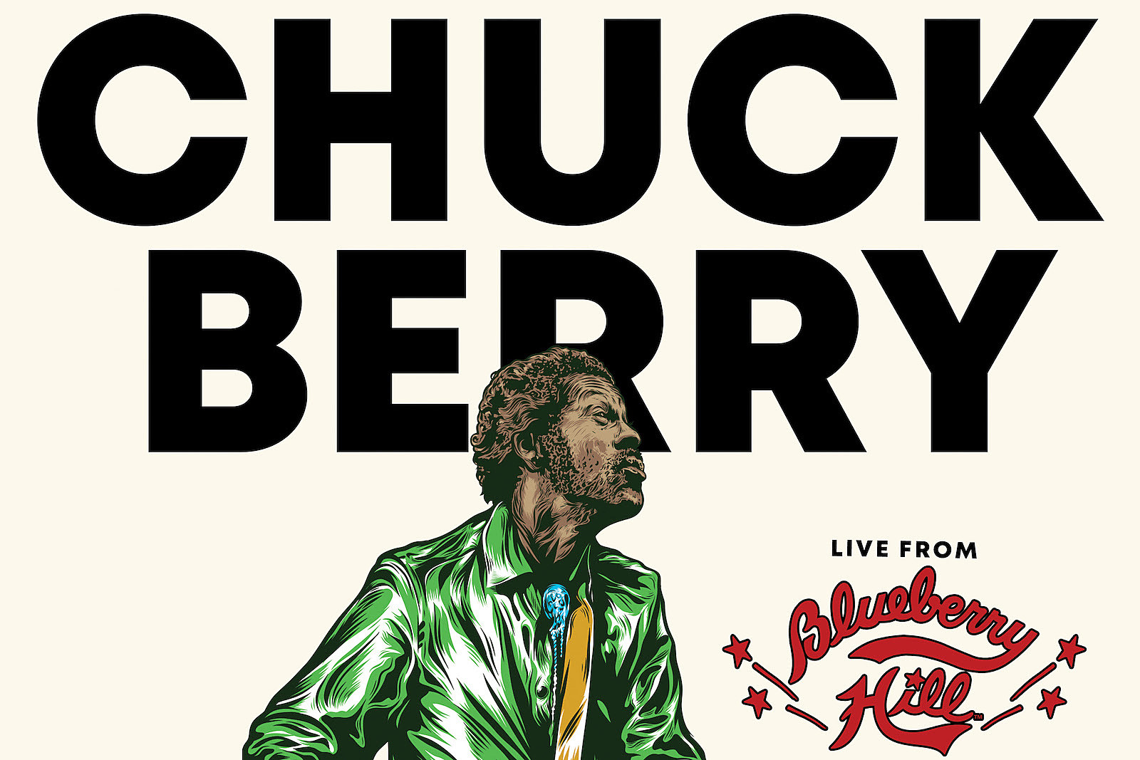 Chuck Berry 'Live From Blueberry Hill' Album Announced