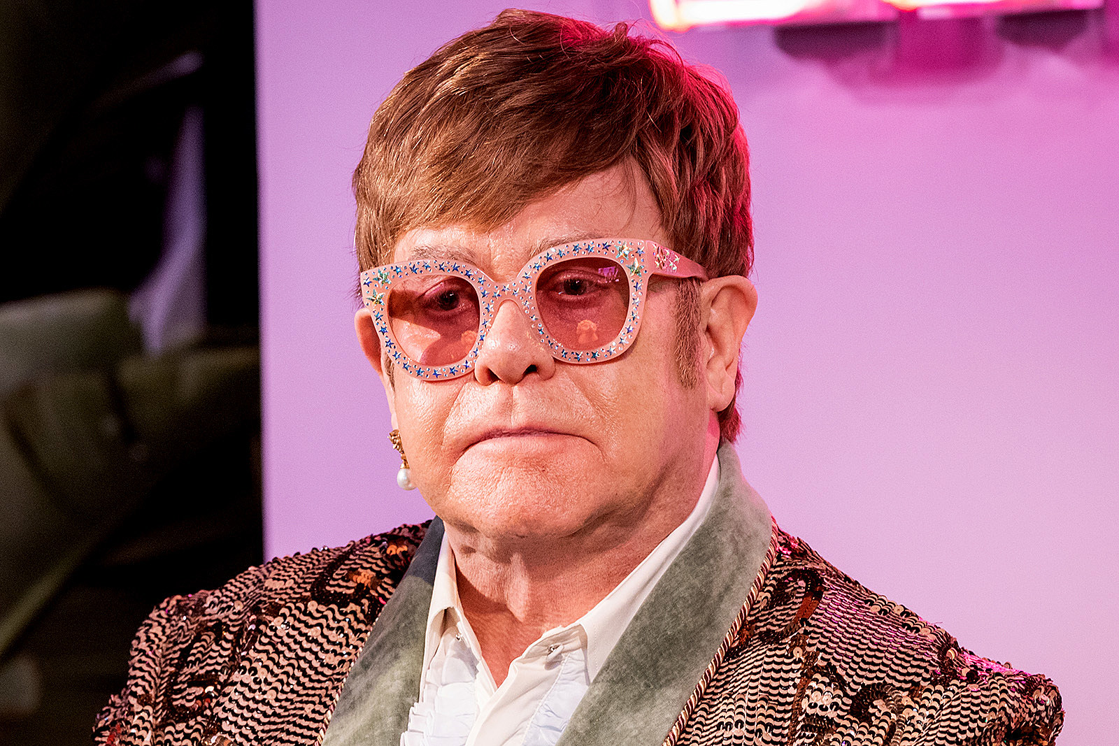 Elton John Admits He Can Still 'Explode at Any Moment'