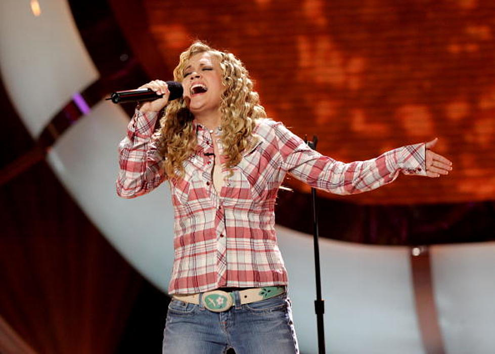 Tbt Carrie Underwood S American Idol Audition