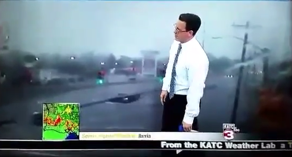 KATC's Daniel Philips Hilariously Scolds Drivers During Today's