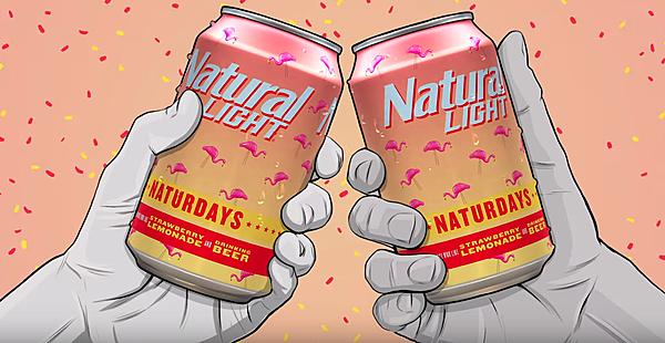 Natural Light Launches New Strawberry Lemonade Beer Naturdays