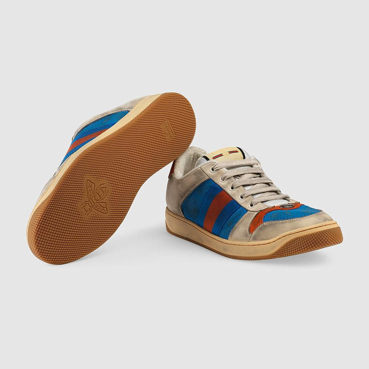 2311ade9074 Gucci Wants To Sell You Dirty Looking Sneakers For  870  Photo