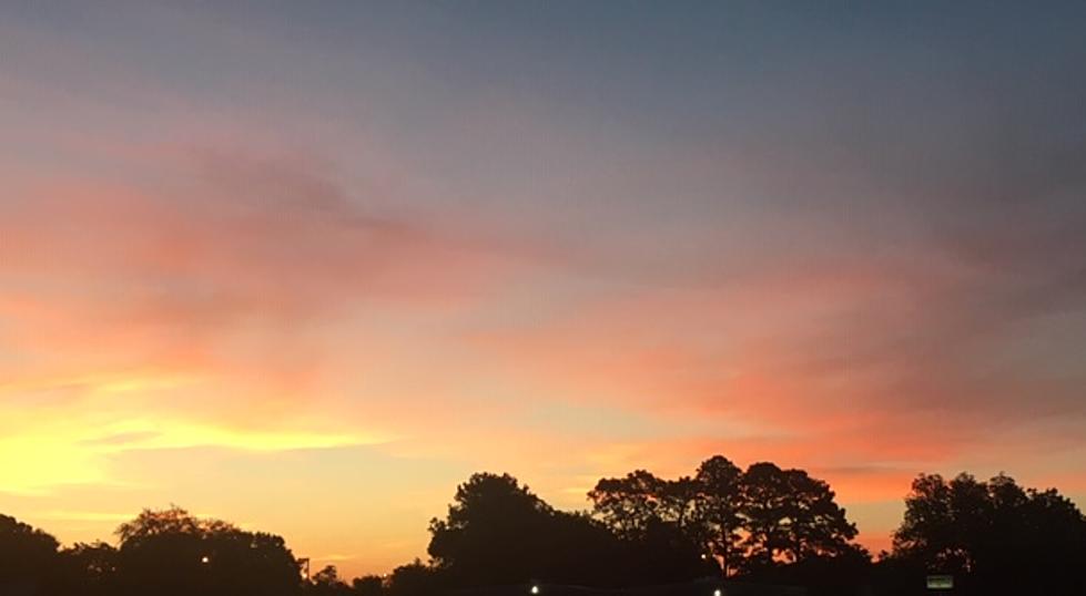 Saharan Dust Lights Up Louisiana Sunsets