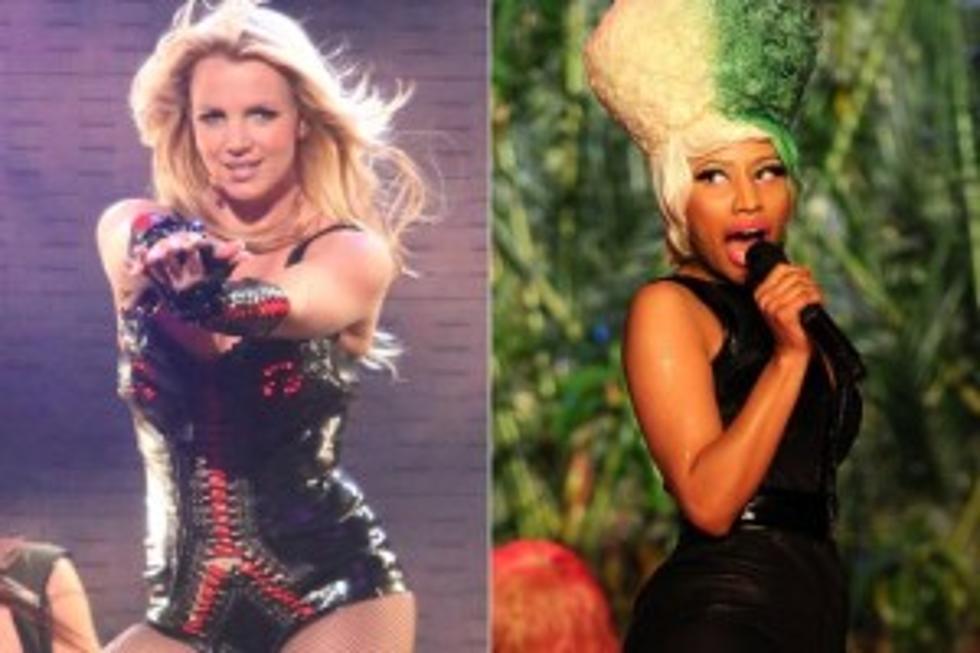 c85e30e377235 Nicki Minaj To Tour With Britney Spears For An All-Female Lineup