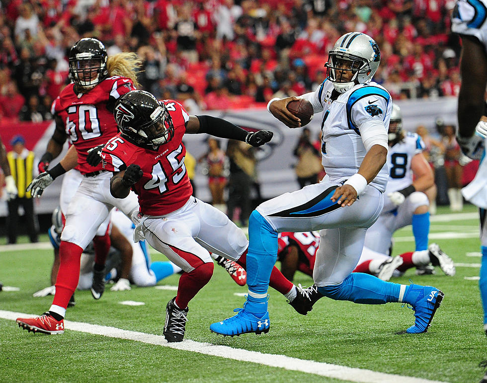 Cam Newton Knocked Out Of Game By Falcons LB He Taunted