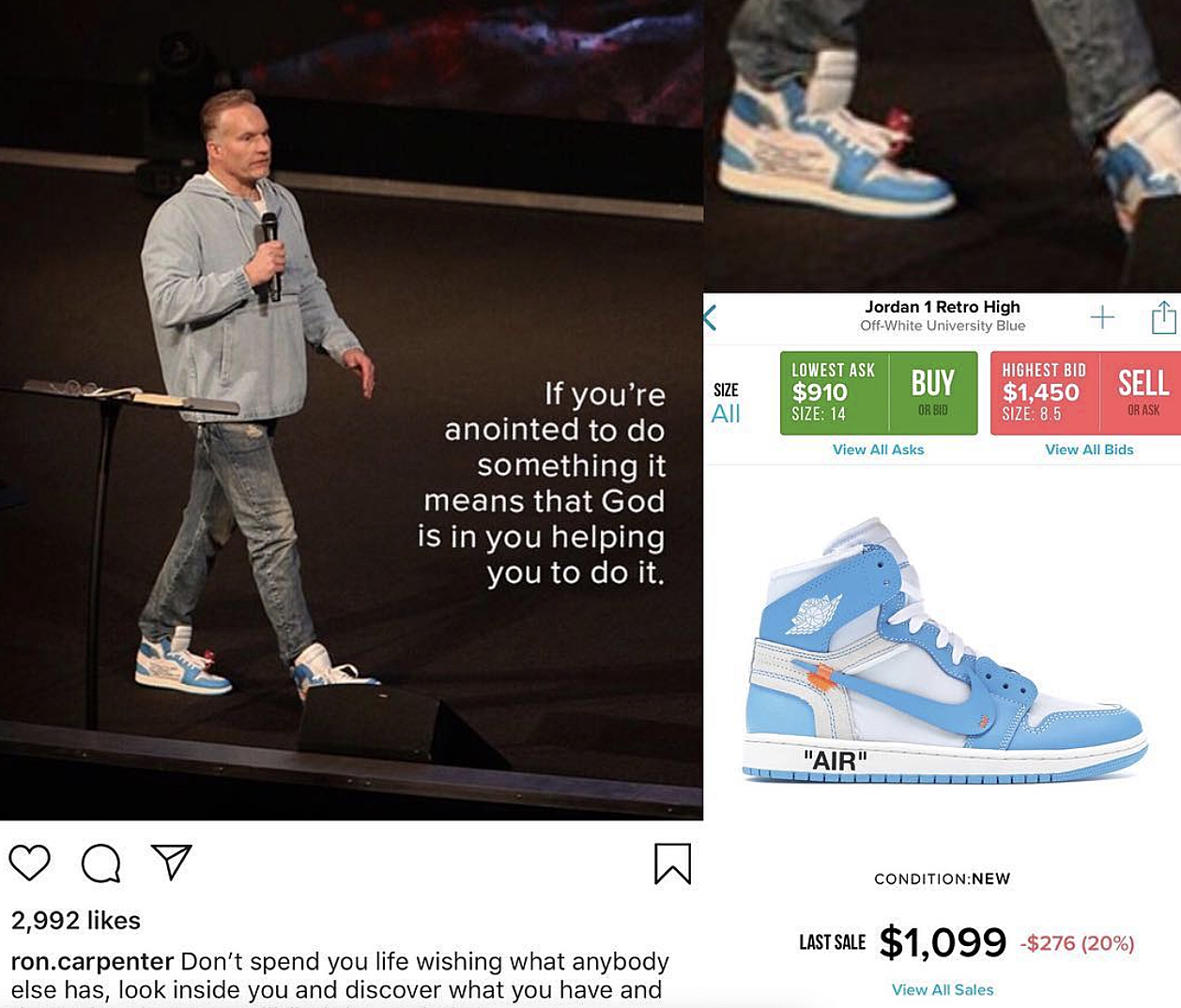 best service 1173d 88dfa Instagram Account Calls Out Preachers Who Rock Expensive Clothing