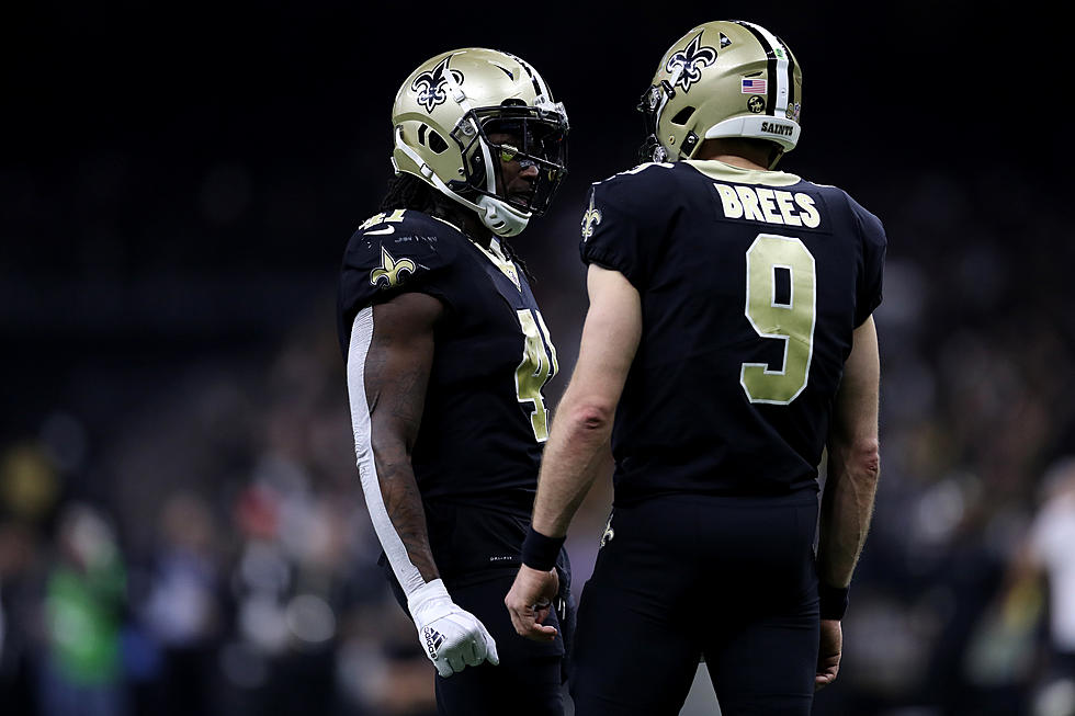 sports shoes 221a2 f9d71 Drew Brees Reveals That His Kids Steal Alvin Kamara's Shoes