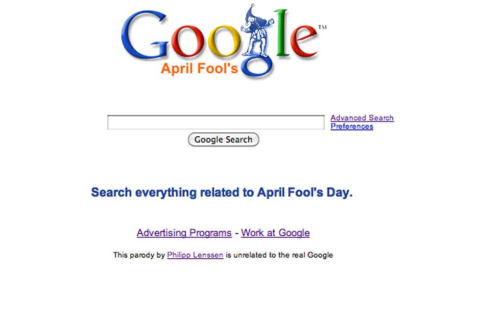 Google's Best April Fool's Day Pranks