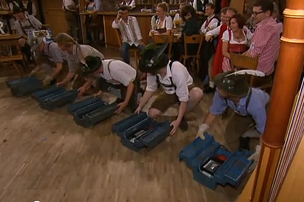 Watch Stirring Musical Performance Of Nothing But Toolboxes