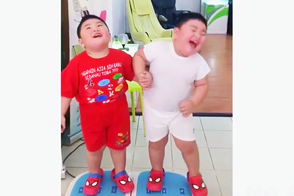 Chubby Toddlers Jiggling With Joy Is the True Purpose of Weight-Loss