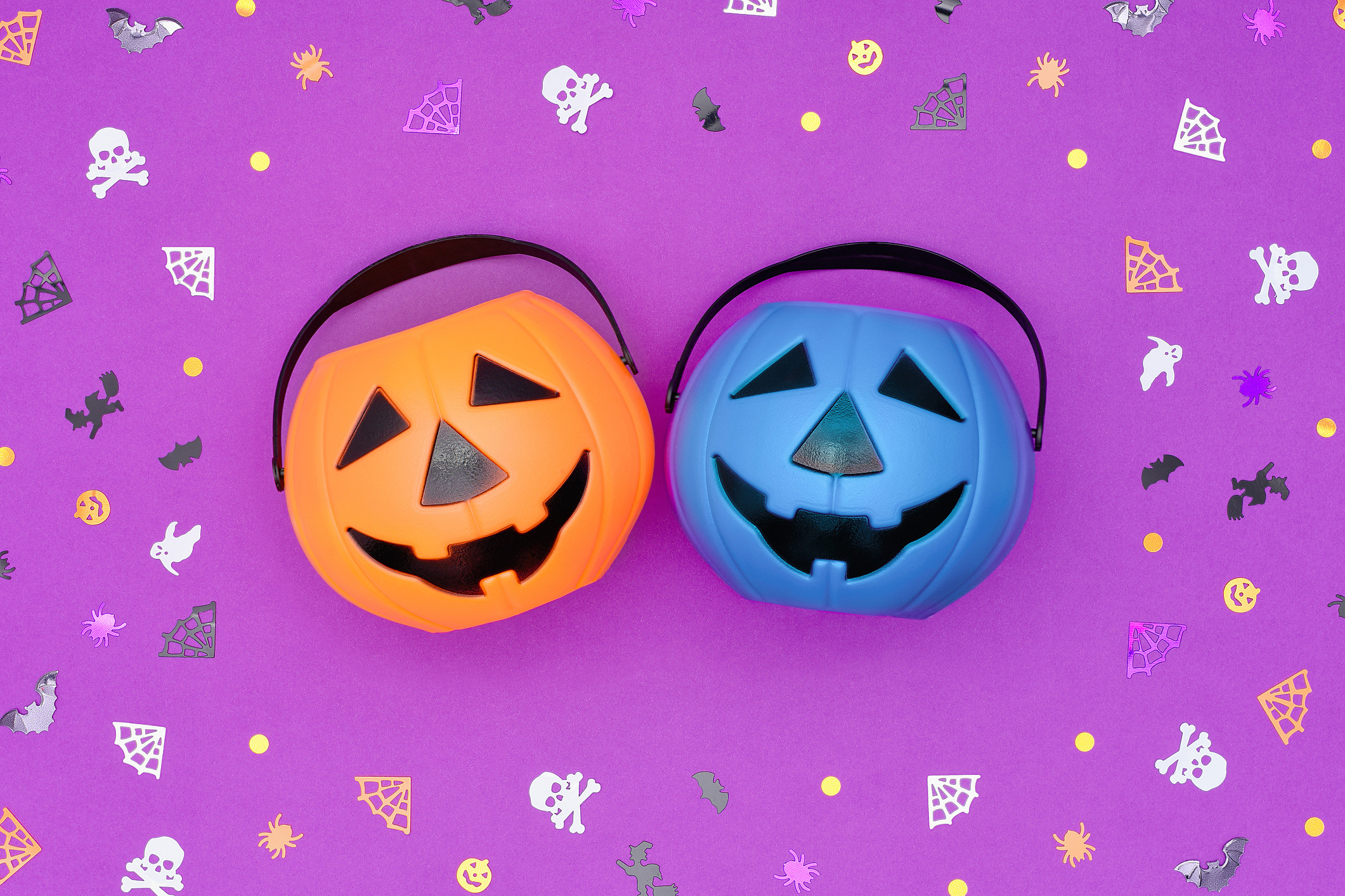 What Does a Blue Halloween Candy Bucket Mean?