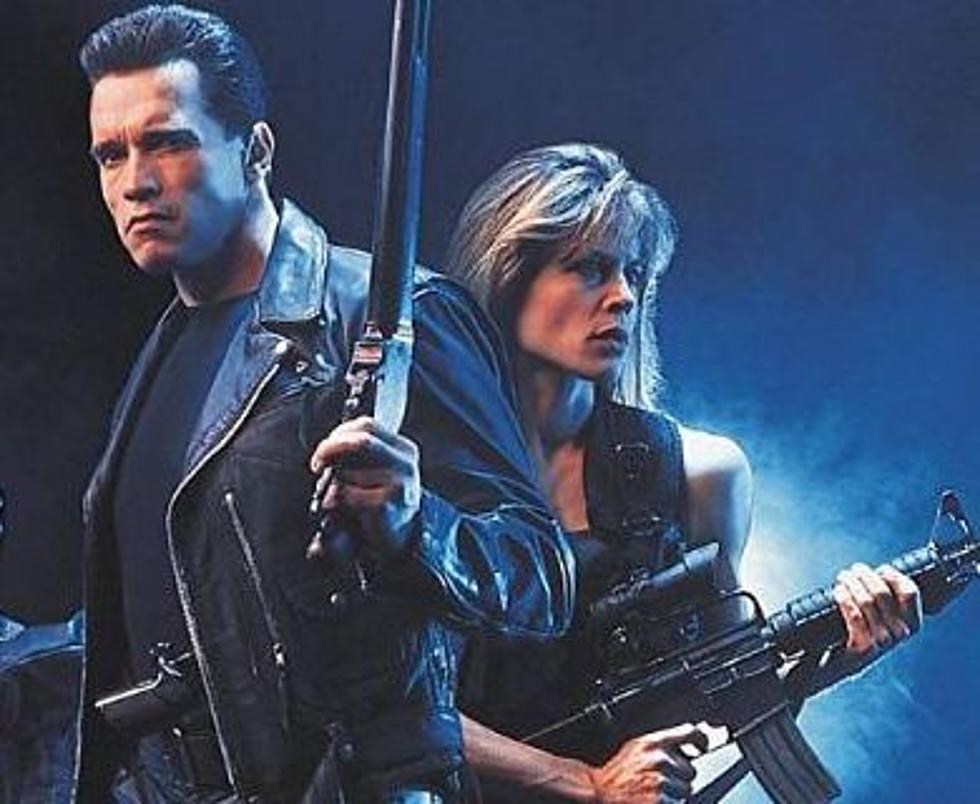 Schwarzenegger & Linda Hamilton On Set Of 'Terminator 6'
