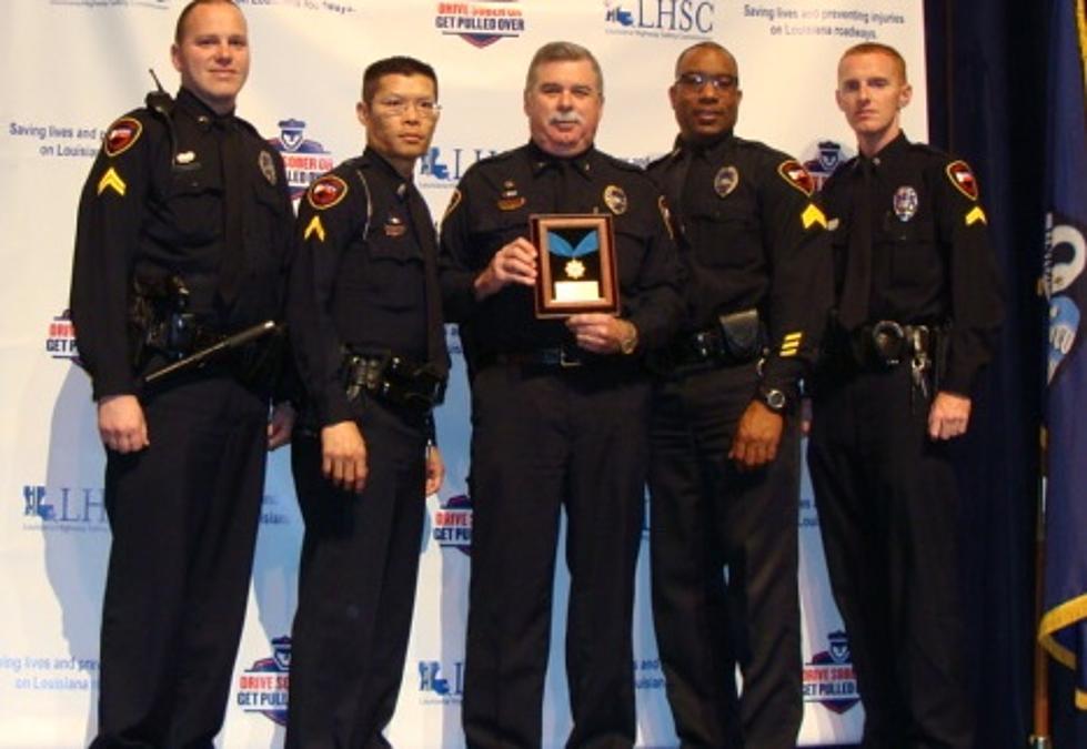 Lafayette Police Department Gets DWI Enforcement Recognition