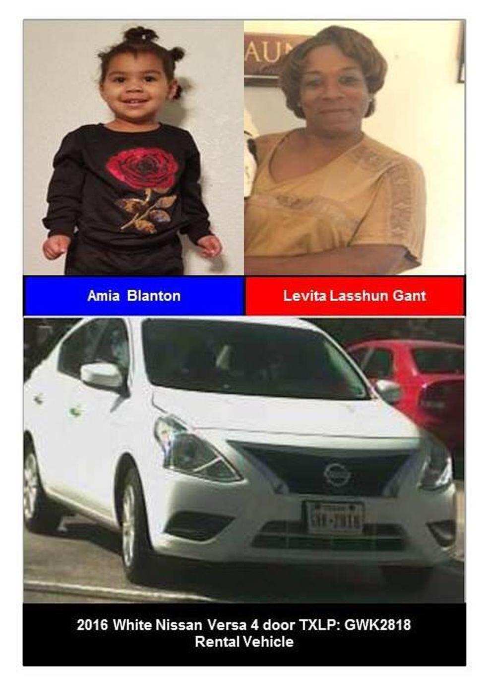 Texas Toddler Missing