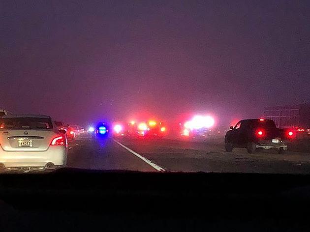 18-Wheeler Crash Causes Traffic Backup On I-49 South