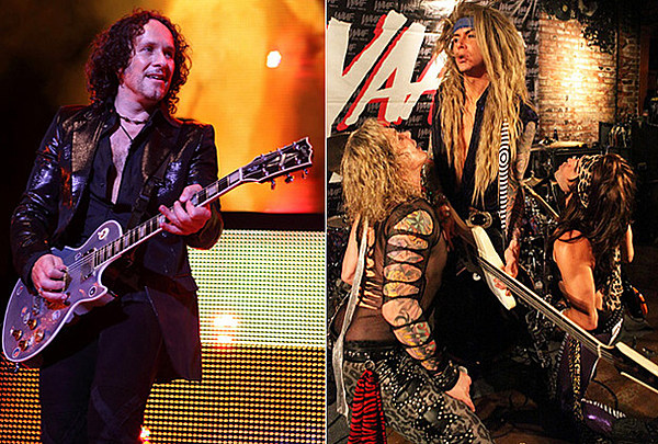 def leppard s vivian campbell performs holy diver with steel panther. Black Bedroom Furniture Sets. Home Design Ideas