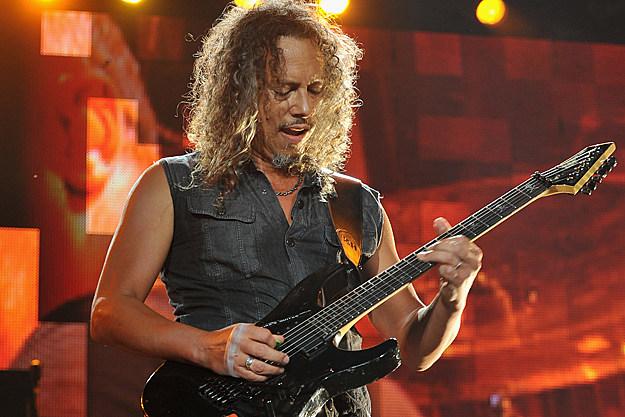 Watch metallica's kirk hammett slip onstage on his wah pedal