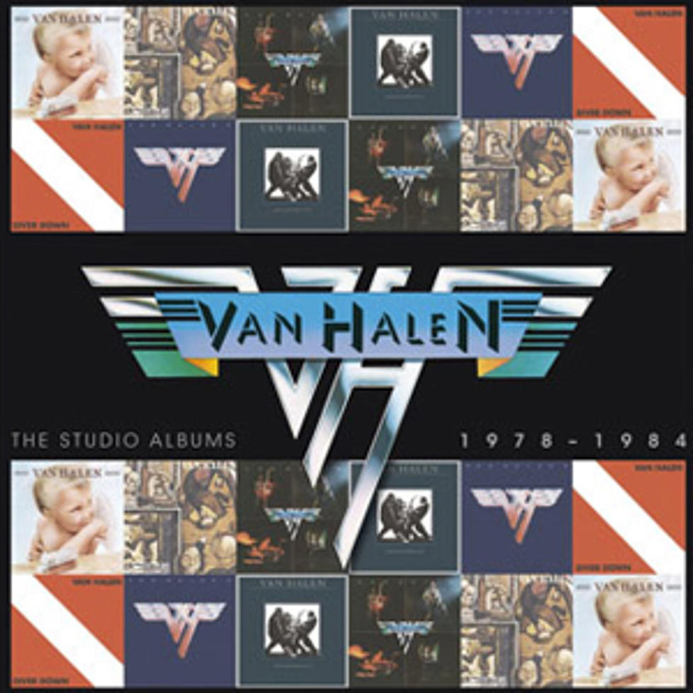 Van Halen Collect Early David Lee Roth Era Albums For Six Disc Box Set