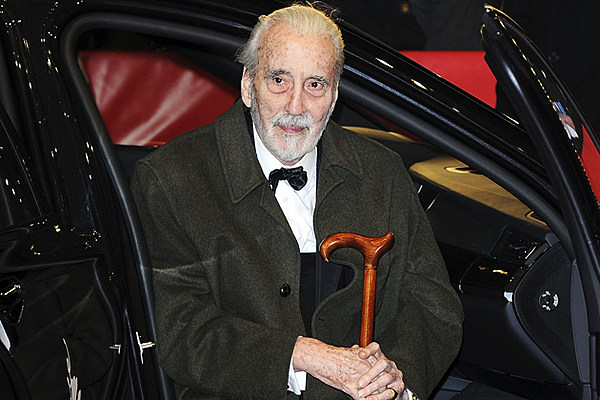 90-Year-Old Actor Christopher Lee Unleashing Second Full ...