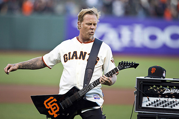 metallica to play second annual 39 metallica night 39 at san francisco giants 39 at t park. Black Bedroom Furniture Sets. Home Design Ideas