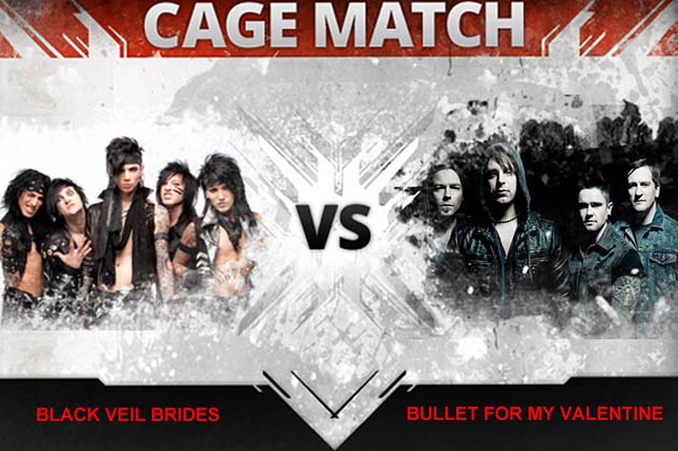 Black Veil Brides vs  Bullet for My Valentine – Cage Match