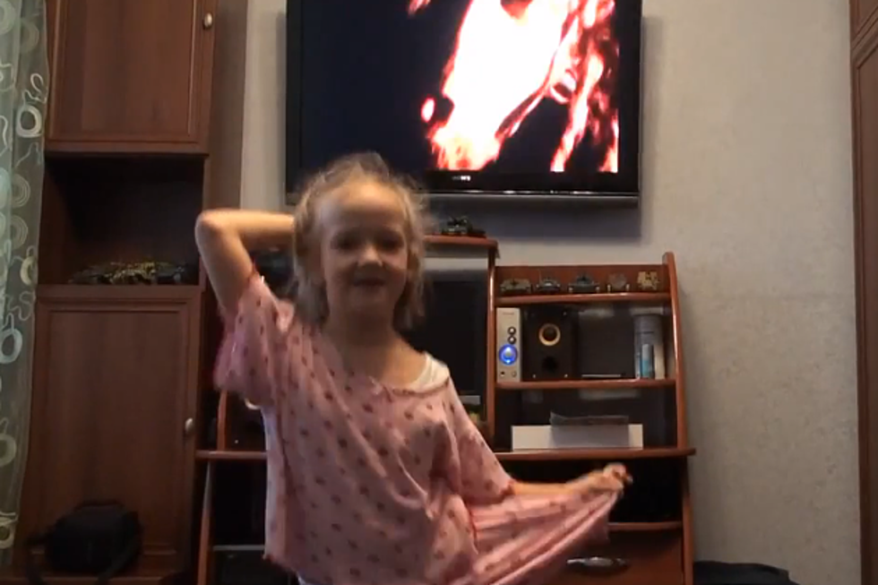 Little Girl Dances to Six Feet Under - Best of YouTube