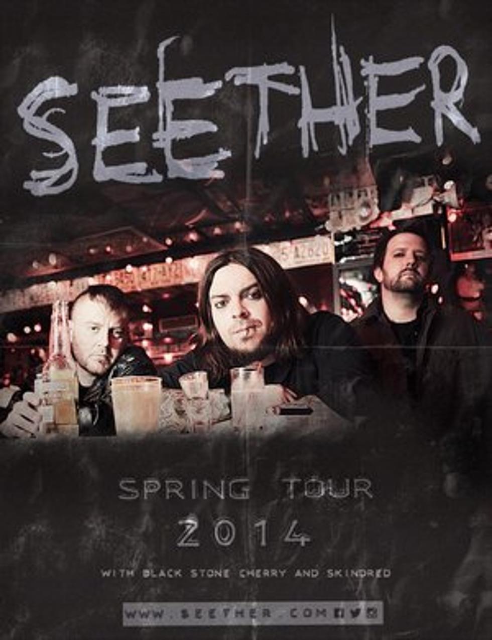 Seether Tour 2020.Seether Unveil Dates For Spring 2014 Headlining Tour