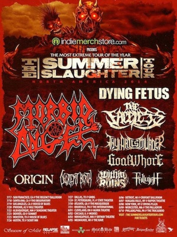 Summer Slaughter 2020.Dates Revealed For 2014 Summer Slaughter Tour