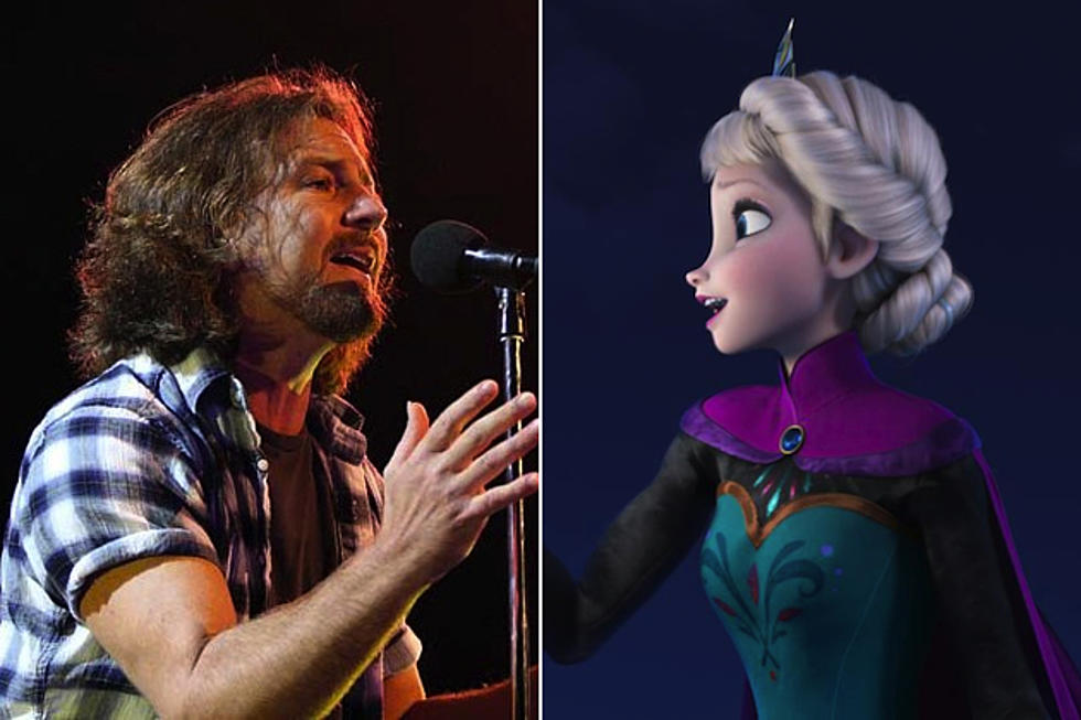 Pearl Jam Rock 'Frozen' Song 'Let It Go' in Concert