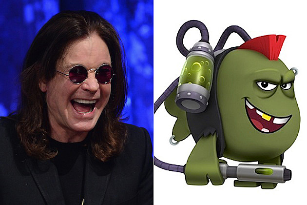 Ozzy Osbourne to Voice 'Sid Fishy' on 'Bubble Guppies'