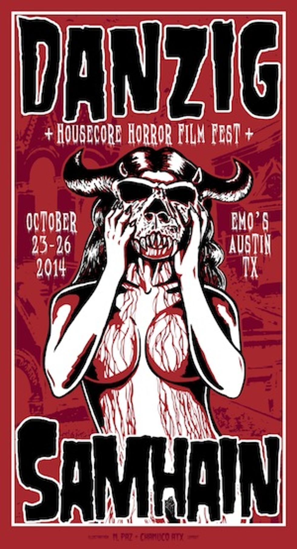 Danzig, Samhain Lead 2014 Housecore Horror Fest Additions