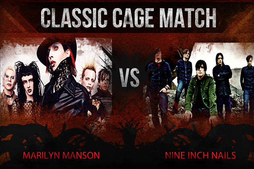 Marilyn Manson vs  Nine Inch Nails - Classic Cage Match