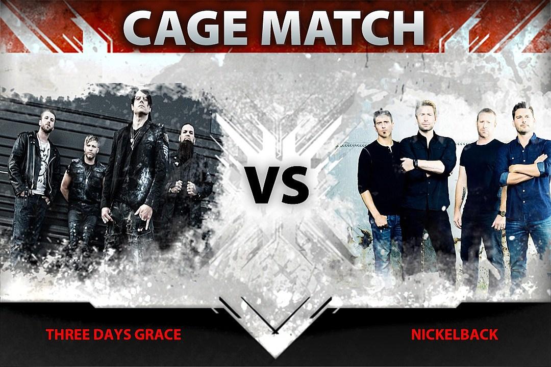 Three Days Grace Vs Nickelback Cage Match