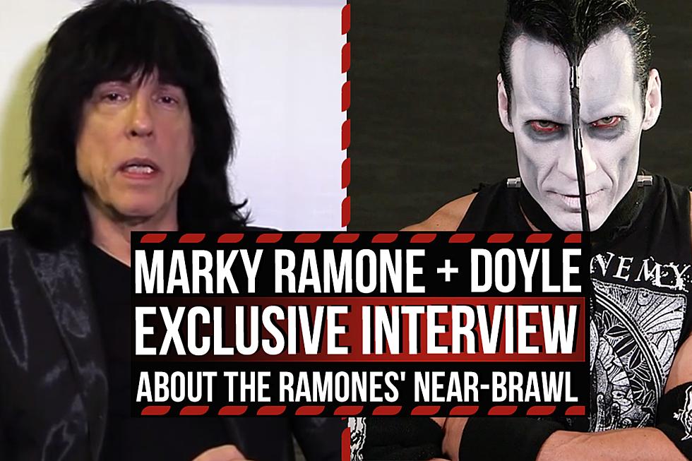 Marky Ramone + Misfits' Doyle on Near-Brawl With Joey Ramone