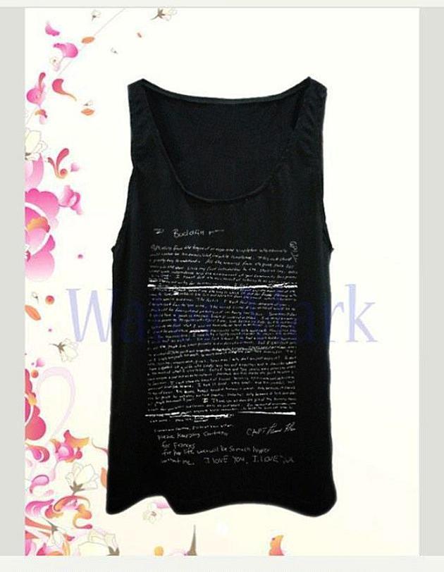8122e15ada46c Sites Halt Sale of Kurt Cobain Suicide Note T-Shirt