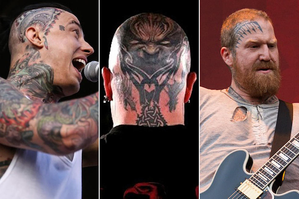 10 Musicians With Face Head Tattoos